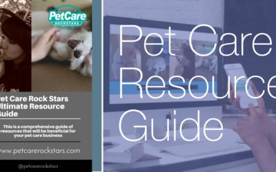 Pet Care Rock Stars Ultimate Resource Guide
